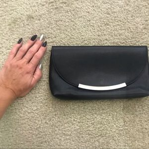 Clutch black and silver from Express